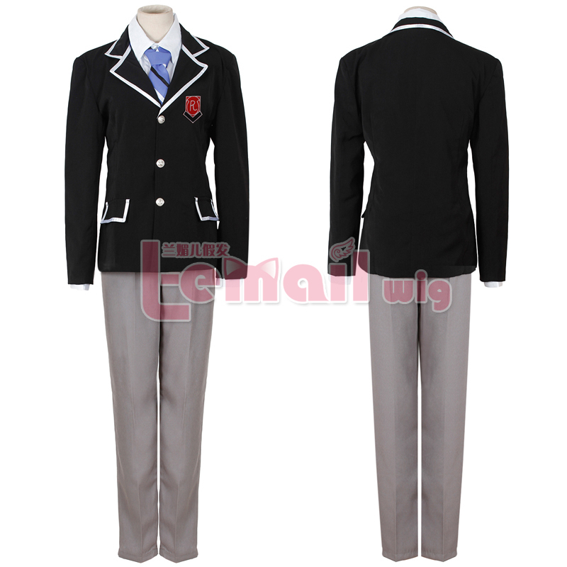2015 Anime School Cosplay Costume Fashion Party Set Clothing Jacket+Pants+Tie C001