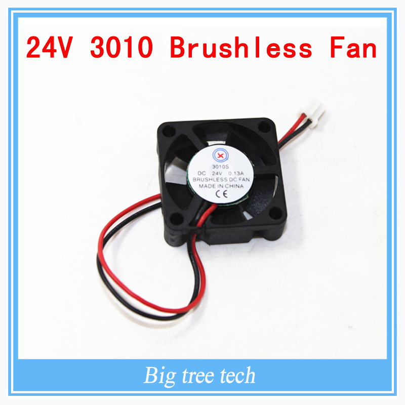 Гаджет  3D printer GDT 3010s 3cm 30 x 30 x 10mm 30mm Small DC 24V Brushless Cooling Cooler Fan Free Shipping None Электронные компоненты и материалы