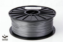 Hot sales Metalic Silver color 3d printer filament PLA ABS 1 75mm 3mm 1kg spool for