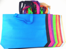 Shopping Non-Woven Bags Reusable Grocery Shopping Tote Bags Convenient Handy Shopping Travel Bags Random Color - 7PCS(China (Mainland))