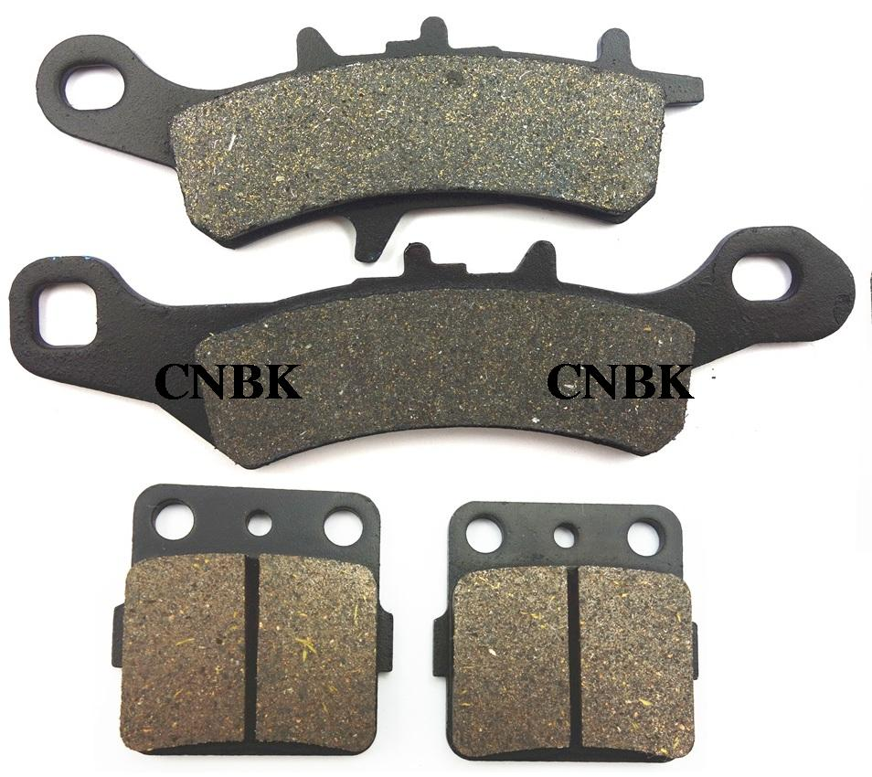 F+R Brake Pad Set fit for KAWASAKI 100 KX KX100 2006 2007 2008 2009 2010 2011 2012 1997 - 2013(China (Mainland))