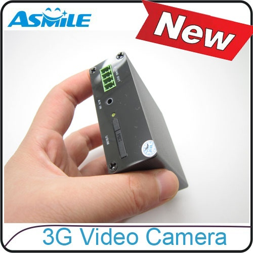 2015 HOT sale High Quality Unique MINI 3G WIFI camera Inernet Video Server IP Box support 3G VIDEO CALL from asmile(China (Mainland))