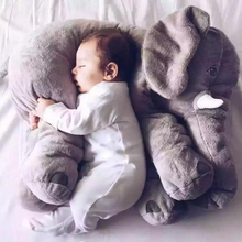 Biggest 60cm Infant Soft Appease Elephant Playmate Calm Doll Baby Toys Elephant Pillow Plush Toys Stuffed Doll Girl Friend Gift(China (Mainland))