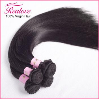 """3PC Malaysian virgin hair straight 8""""-28"""" free shipping 6a rosa hair products malaysian straight natural black hair Human Hair"""