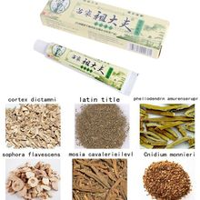 Psoriasis Dermatitis Eczema Treatment Anti Bacterial Skin Fungus Herbal Cream Ointment Miao TQ