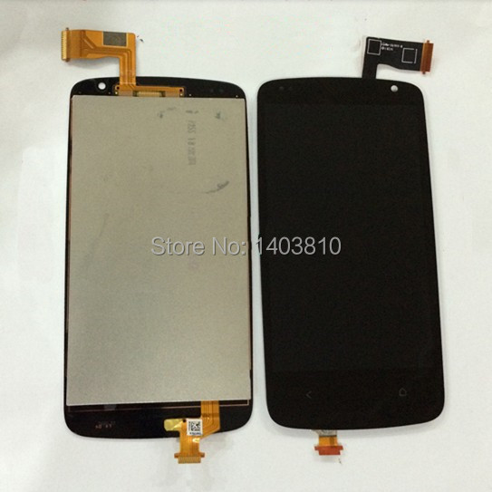 Free shipping Original for HTC Desire 500 Dual SIM Assembly Display LCD & Touch Digitizer Screen
