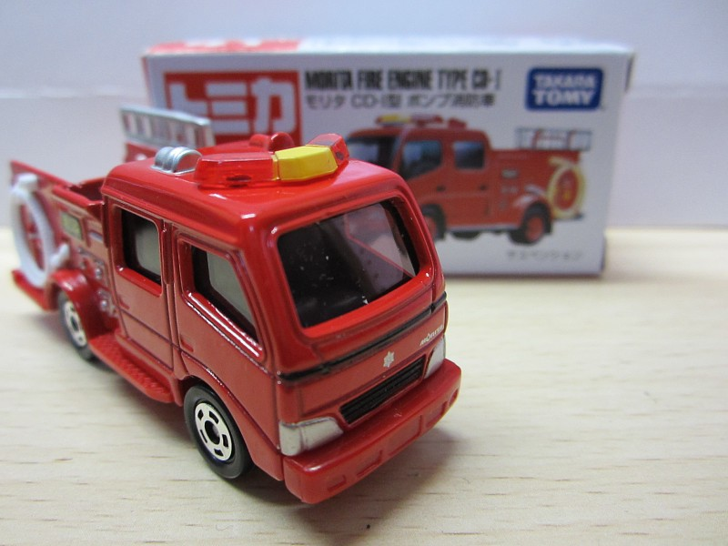 Tomica Tomy 100% Original No.41 MORITA FIRE ENGINE TYPE CD-1 1/61 Car Matchbox (Silver Mica Metalic) Children Toy(China (Mainland))