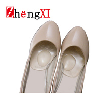 New Silicone Gel Insoles Shoe Pad Foot Care Women's Cushion Protect Comfy Feet Palm Care Pads Shoe Accessories ZWS0059 D5(China (Mainland))
