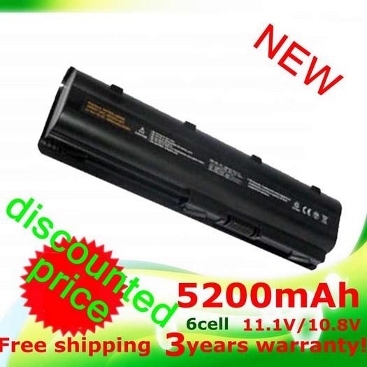 5200MaH Battery for HP Pavilion DM4 DV3 DV5 DV6 DV7 G32 G42 G62 G56 G72 for COMPAQ Presario CQ32 CQ42 CQ56 CQ62 CQ630 CQ72 MU06(China (Mainland))