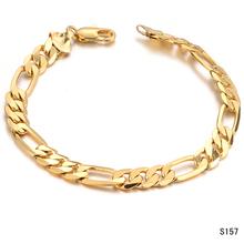 Fashion accessories 2012 18k gold cool male bracelet ks157