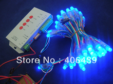 Round Shape 12mm WS2801 pixel string lights,WS2801 led pixel modules,IP68;DC5V input;full color;50pcs a string(China (Mainland))