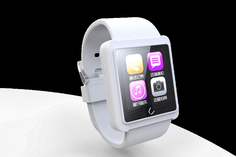 Hotsale gifts smart android watch waterproof Bluetooth U Watch U10 L for iPhone4 Samsung HTC Android Phone Smartphones+anti-lost