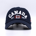 New Arrivals Cotton Gorras Canada Baseball Cap Flag Of Canada Hat Snapback Adjuatable Mens Baseball Caps