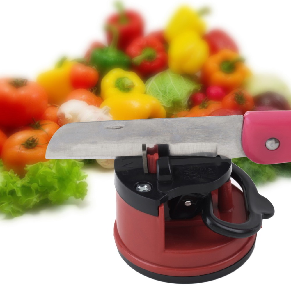 1Pc Professional Chef Pad Kitchen Sharpening Tool Knife Sharpener Scissors Grinder Secure Suction sharpener for knives(China (Mainland))