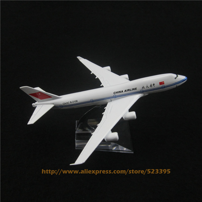 16cm Alloy Metal Air China Airline Boeing 747 B747 400 Model Aircraft Airplane Model Plane Model W Stand Toy(China (Mainland))