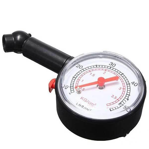 Chivanoor Dial Tire Air Pressure Gauge Meter for Motorcycle Car Vehicle 0-50PSI(China (Mainland))