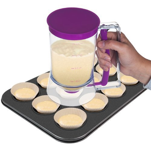 Free Shipping Retail Holesales Cream Whisk Muffin Cup Cake Baking Tools Kitchen Batter Dispenser(China (Mainland))
