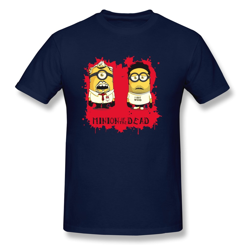 Buy tshirt man slim fit minion of the for Design and buy your own shirt