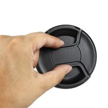 49mm – 77mm Center Pinch Lens Cap Cover for Canon nikon d5100 d5200 d3300 1200d d3200 d3100 cokin lens accessories 58mm 67 52mm