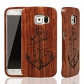 Nature Real Wooden Bamboo Case for Samsung Galaxy S S6 edge Plus G9280 Cover Genuine Wood