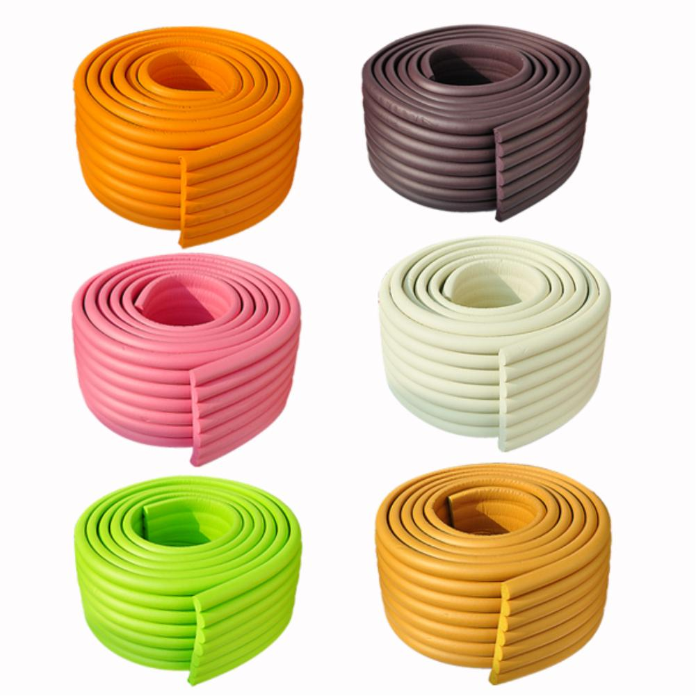 Ultra Wide 2M Baby Bumper Strip Baby Safety Corner Protector Table Edge Corner Cushion Strip EX1397(China (Mainland))
