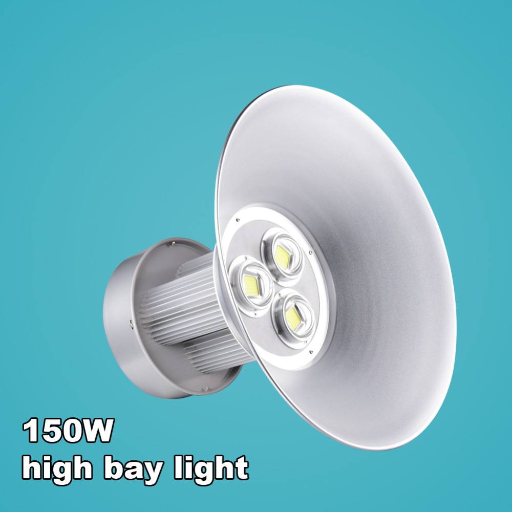 150W Integrated LED High Bay Light Factory Warehouse