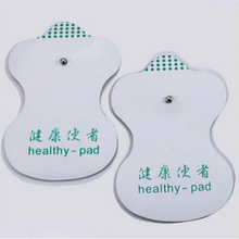 2015 New 20pcs White Electrode Pads For Tens Acupuncture Digital Therapy Machine Massager Tools