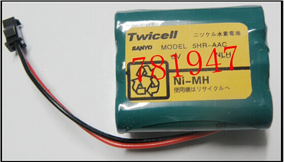 HOT NEW  Twicell MODEL 5HR-AAC 5HR AAC 6V 2000mah NI-MH SANYO battery / Small refrigerator battery<br><br>Aliexpress