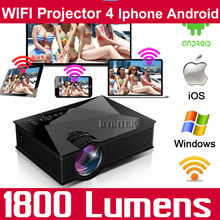 1200lumens EZcast WIFI HD Home Theater LCD 3D Portable Small HDMI USB Video Game LED Mini Projector HD Proyector Beamer