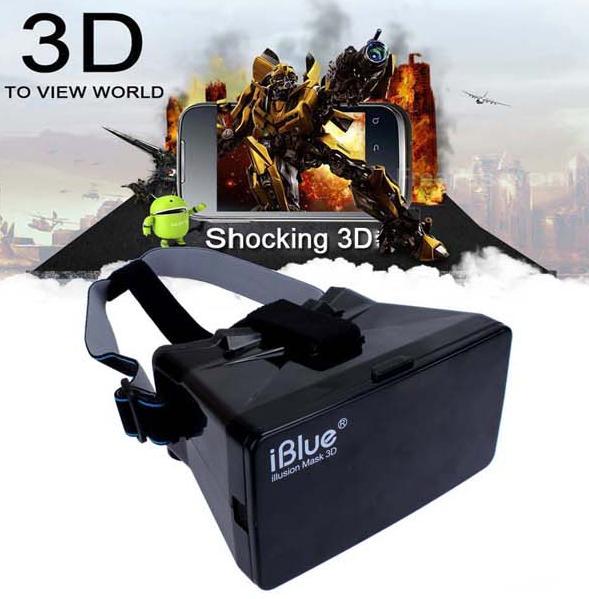 "2015 Fashion Plastic Virtual Reality 3D Video Glasses for 3.5-5.6"" Phone Google Cardboard(China (Mainland))"