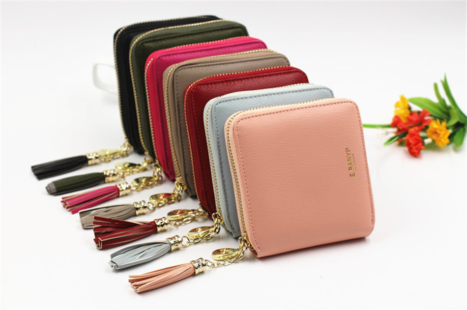 cbc64cd0c938 Women Coin Purses Tassel Coin Bag Female Small Purse Leather Clutch Wallet  Ladies Mini Purse Card Holders Monederos Para Monedas. purse (6) ...
