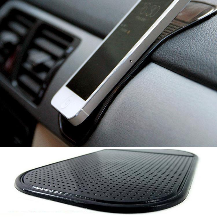Fashion Phone Accessories Silicone Paste Pad Non slip Mat Car Mobile Anti slip Magic Mat Color