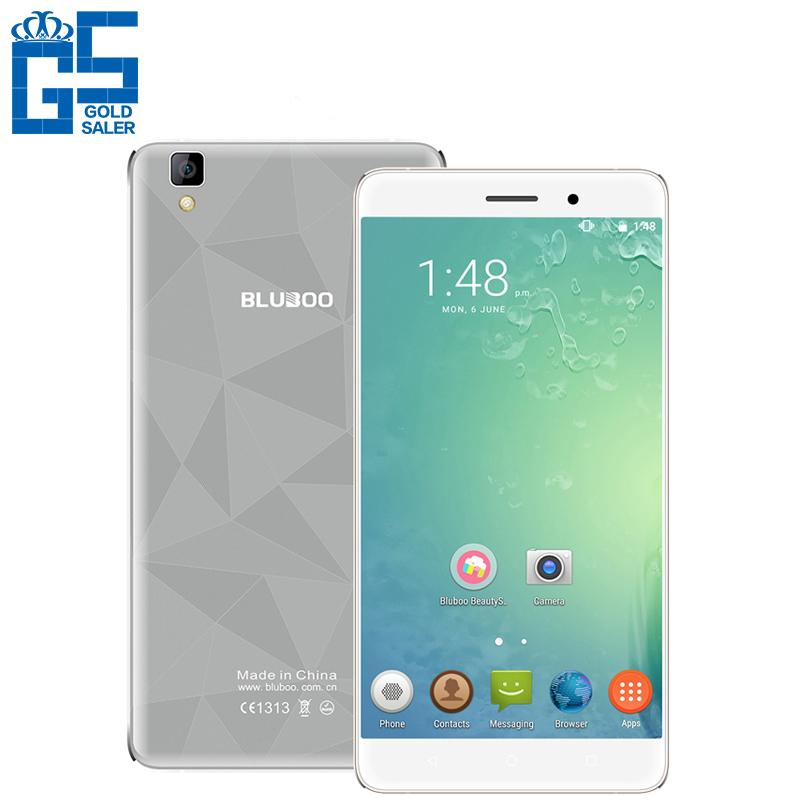 "Original Bluboo Maya 5.5"" HD IPS WCDMA 3G Smartphone MTK6580A Quad Core 2GB RAM 16GB ROM Android 6.0 13MP Dual SIM Mobile Phone(China (Mainland))"