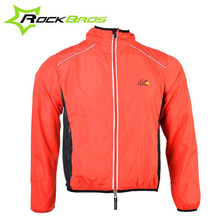 RockBros Reflective Cycling Jackets Windproof Waterproof Windcoat Windbreaker Cycling Riding Raincoat Men Bicycle Jackets XXXL