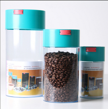 plastic vacuum coffee canister include small Medium and large a set(China (Mainland))