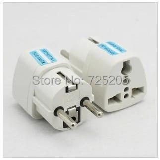 EU Adapter Convert Universal AC Power Travel Adapter Transfer Plug 2 Round Pins 250V/10A Free Shipping(China (Mainland))