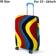 Travel on Road Luggage Cover Protective Suitcase cover Trolley case Travel Luggage Dust cover for 18 to 30inch(China (Mainland))
