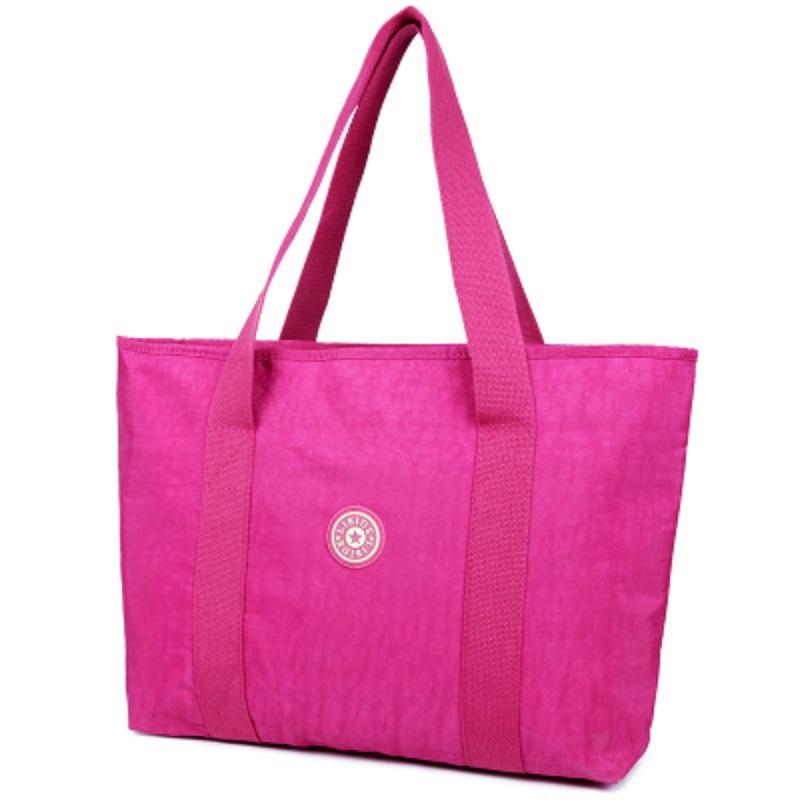 7 Colors 2016 Casual Oxford Waterproof Tote Bag Pattern&Solid&Print Shoulder Bag Handbag Mother/Shopping Bag Big Bag Bolsas(China (Mainland))