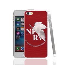 17292 NEON GENESIS EVANGELION hard transparent Cover Case for Apple iPhone 4 4S 5 5S 5C SE 6 6S Plus