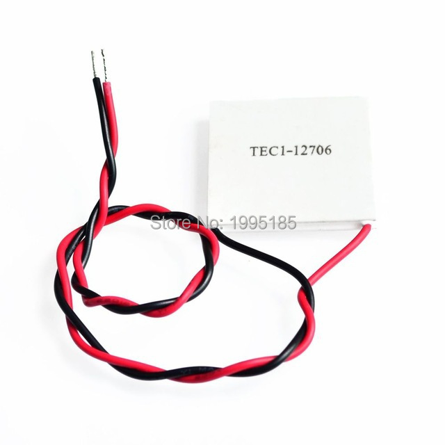 1pcs 100% New the cheapest price TEC1-12706 TEC Thermoelectric Cooler Peltier (TEC1 12706)(China (Mainland))