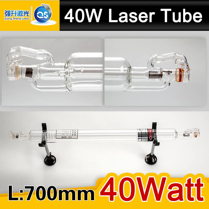 Hight Quality 700MM 40W Co2 Glass Laser Tube for CO2 Laser Engraving Cutting Machine(China (Mainland))