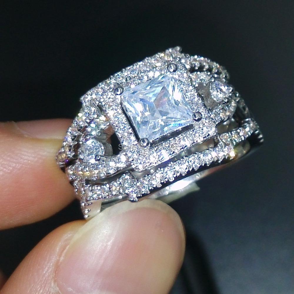 Victoria Wieck Dazzling Engagement Topaz Simulated Diamond