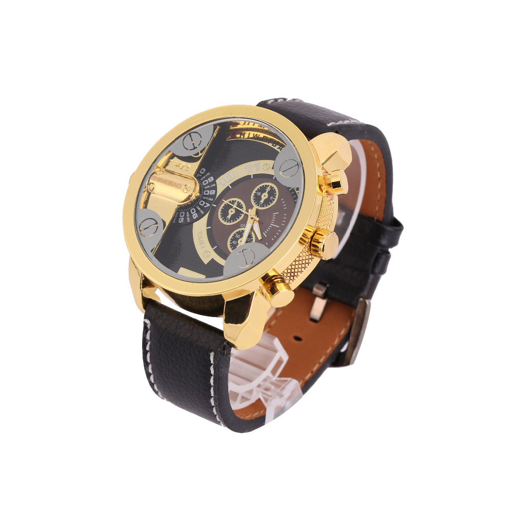 Cool Big Case Dual Time Zone Army Military Watches Luxury Brand Shiweibao Quartz Watch Men Analog New Casual Mens Wristwatches<br><br>Aliexpress