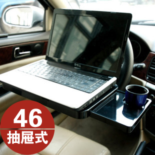 Auto supplies car computer desk folding computer mount car laptop mount with drawer(China (Mainland))
