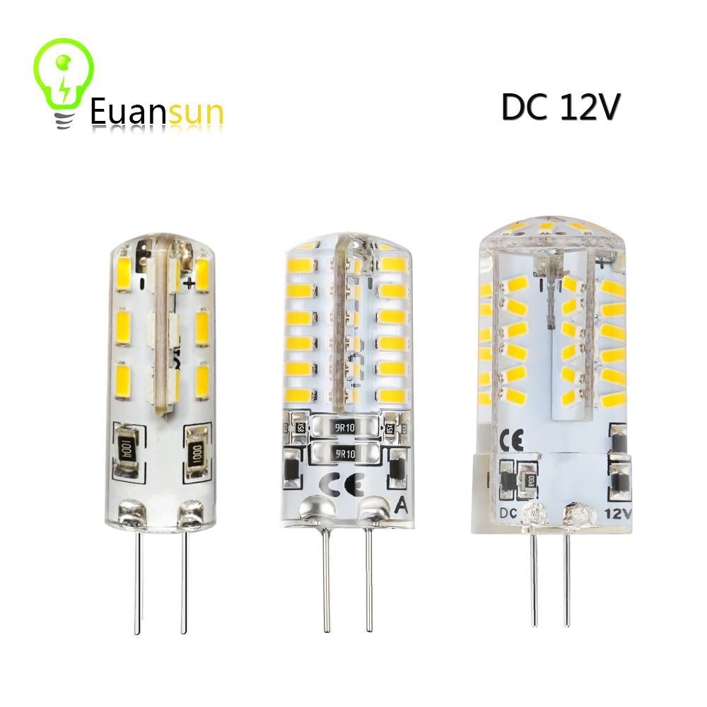 G4 LED Corn bulb Lamp DC 12V Led Bulb Light 3W 6W Spotlight Replace Halogen Lamp 360 Beam Angle Free Shipping(China (Mainland))