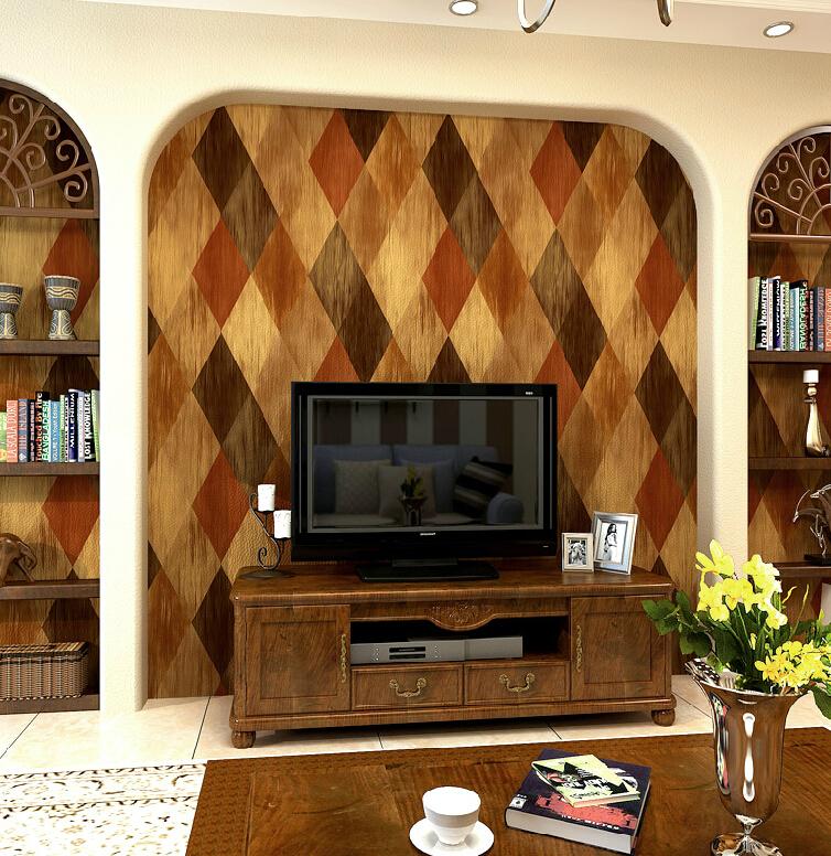 Buy vintage mosaic wallpaper 3d brick for Mosaic wallpaper for walls