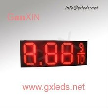 18inch  red digital  outdoor waterproof high brightness LED gas price sign(China (Mainland))