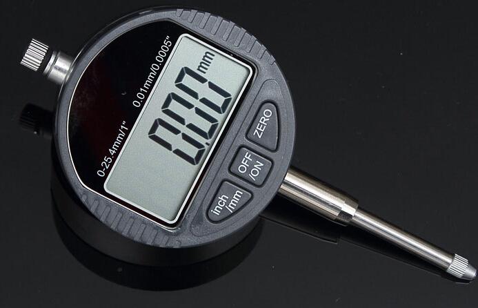 digital indicator digital dial indicator electronic indicator range 0-25.4mm Display LCD free shipping