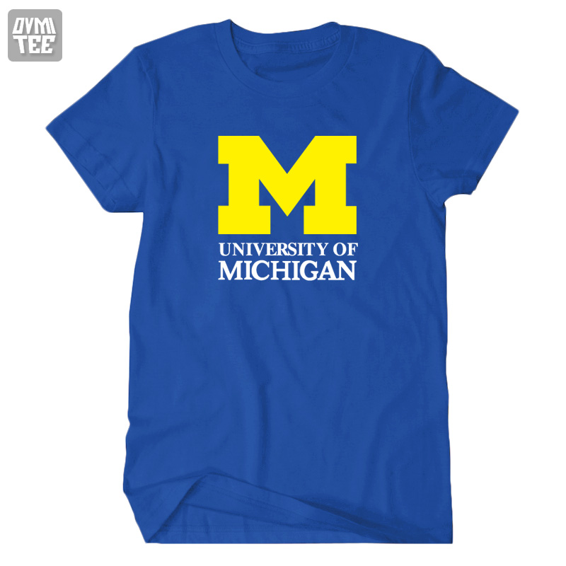 2016 new Michigan University American college basketball baseball sports jersey clothing short sleeve t shirt tee top(China (Mainland))
