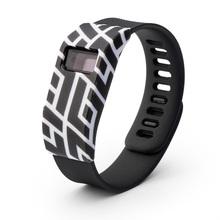 Caja De Goma Del Silicio Cone1/Banda para Fitbit Cargo/Fitbit Carga HR Protector de La Manga Delgado Diseñador accesorios